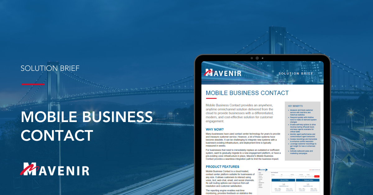 Mobile Business Contact